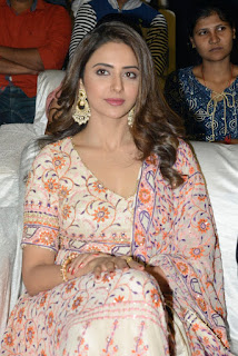 Rakul Preet Singh at Karthi's Dev Movie Pre release Event