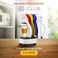 Promoción: Nescafé Dolce Gusto Perú Gana: Máquinas Nescafé Dolce Gusto Colors