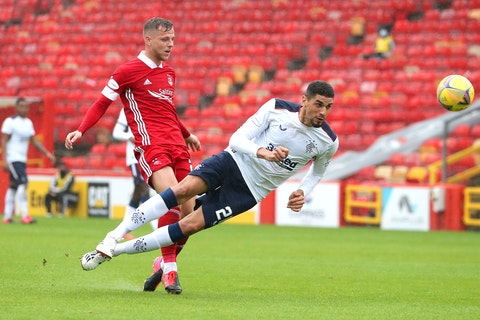 """He is so aggressive"" Former Rangers star heaps praises on Leon Balogun"