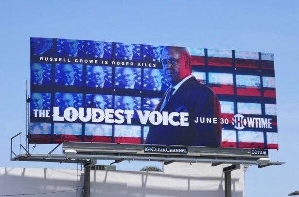 Loudest Voice limited series billboard