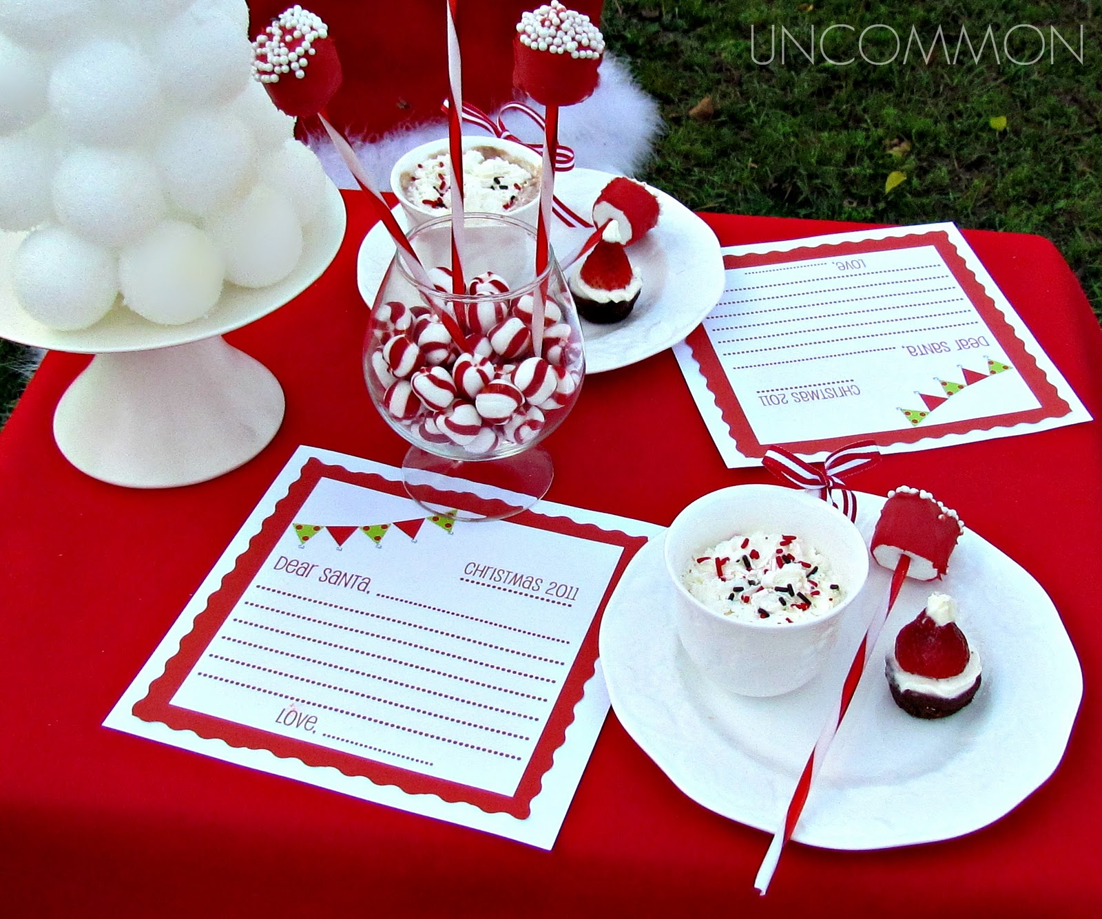 Christmas Holiday Party: Uncommon Events: Letter To Santa Party { A Free Printable