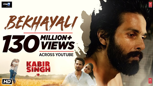 bekhayali lyrics in english hindi kabir singh-arijit singh