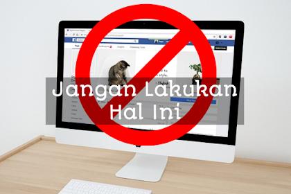 Tips menjaga akun Facebook agar tidak dinonaktifkan