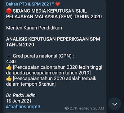 Keputusan SPM 2020 terbaik dalam 5 tahun, keputusan SPM 2020 Terengganu, SPM 2020 result, semakan keputusan SPM 2020 online, Cara Semakan SPM 2020, Tahniah Anak Anak SPM 2020, www.akifimtiyaz.com