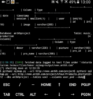 sqlmap termux android