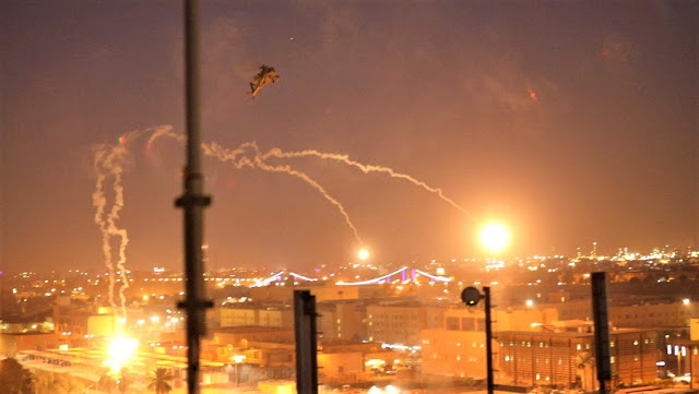 Dos misiles impactan contra la Zona Verde de Bagdad, donde está situada la Embajada de EE.UU.