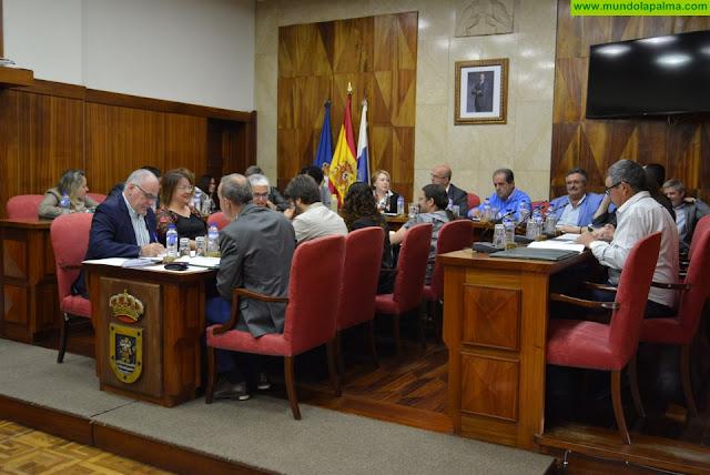 El Cabildo de La Palma aprueba dos declaraciones institucionales sobre la huelga del Día Internacional de la Mujer y  compensación para la captación del agua de riego