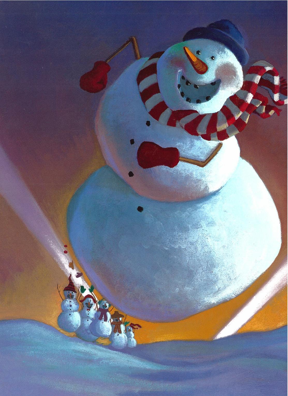 Help Me Grow Children S Book Spotlight Snowmen At Night