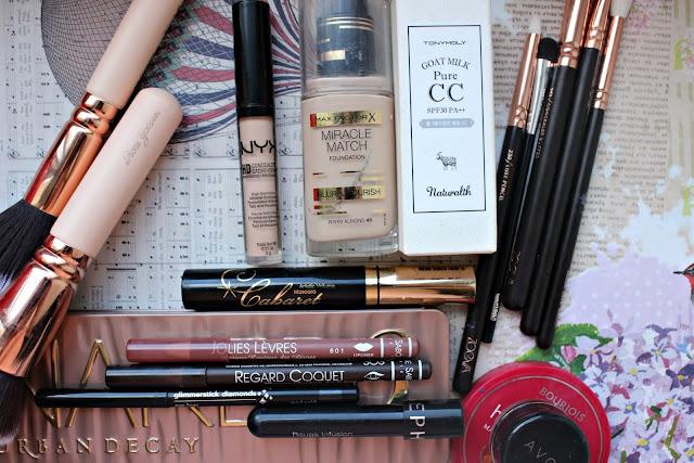 twenties make-up: cosmetic