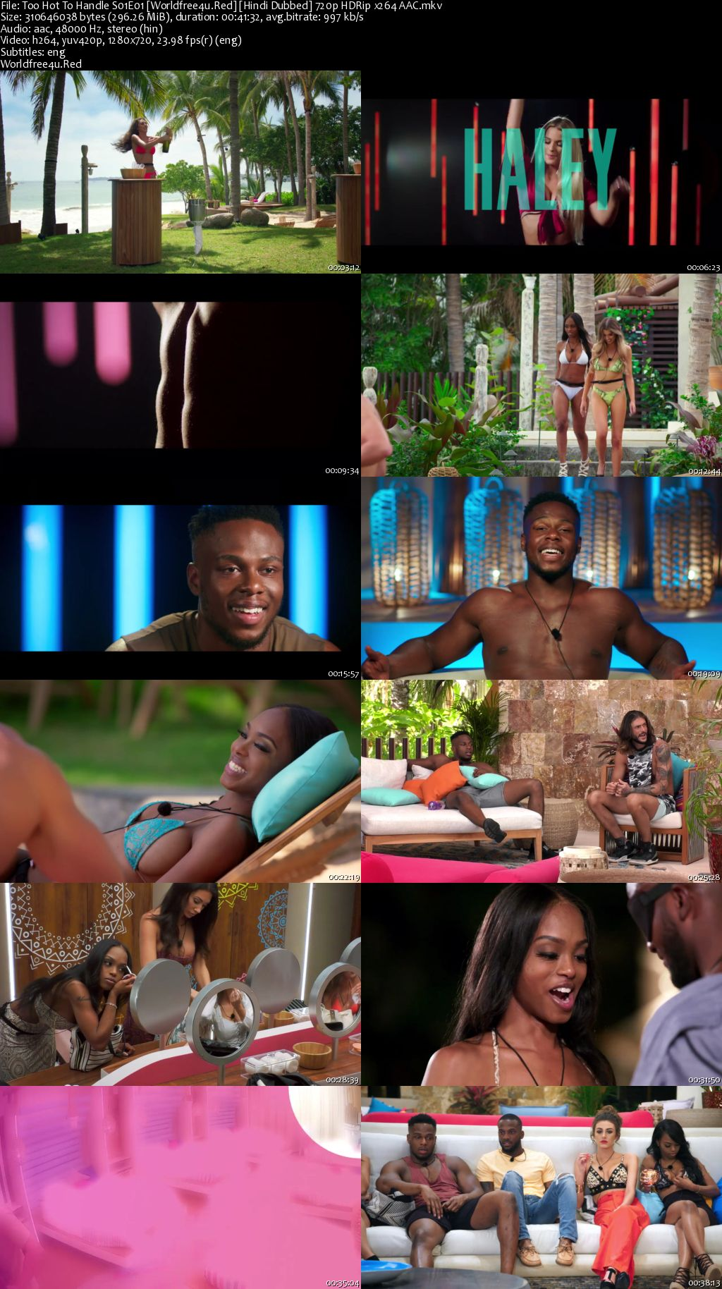 Too Hot To Handle 2020 (Season 1) All Episodes HDRip 720p