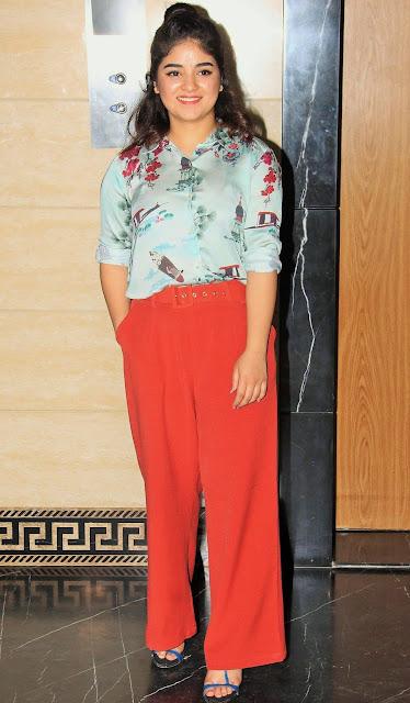 Actress Zaira Wasim Cute Stills Actress Trend