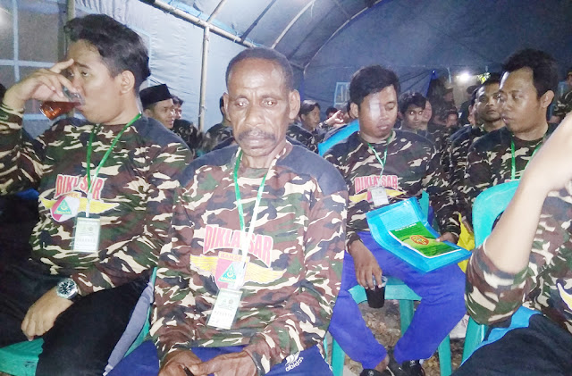 Keren! Demi Ikut Banser, Pemuda Papua Menyeberang ke Pulau Jawa