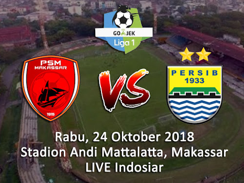 Persib VS PSM Makassar 24 Oktober 2018