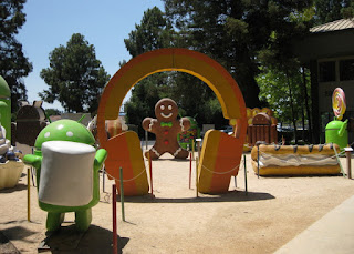 Android Sculpture Garden, Google Visitor Center, Mountain View, California