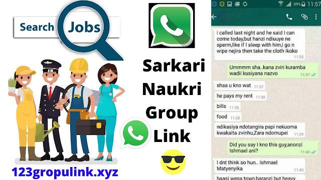 Join 500+ Sarkari Naukri Latest Whatsapp Group Links 2020