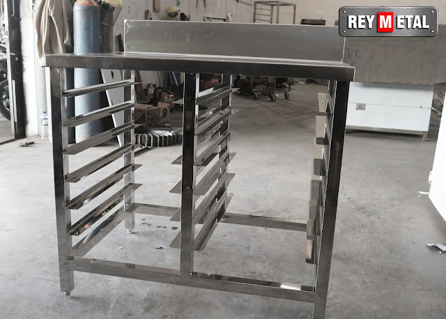 Meja Stainless Steel For Bakery Reymetal.com