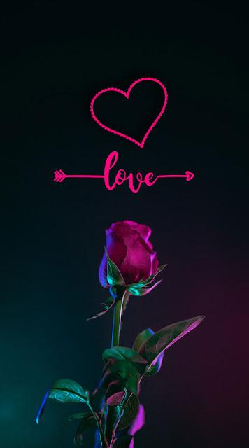 rose lovely iphone wallpaper love heart iphone wallpaper