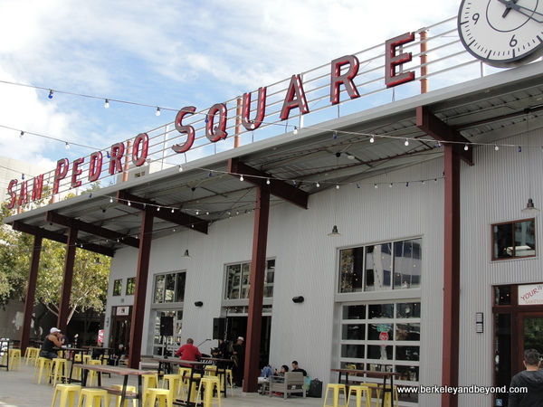 exterior of San Pedro Square Market in San Jose, California