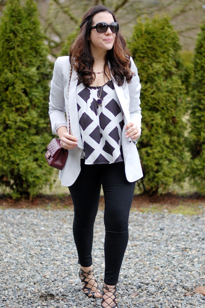 Plenty Propaganda cami by Vancouver fashion blogger Aleesha Harris of Covet and Acquire.