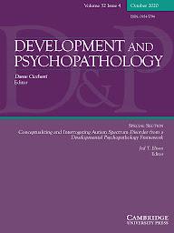 Development and Psychopathology journal