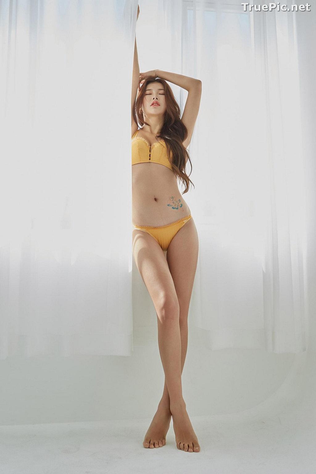 Image Korean Fashion Model – Da Yomi (다요미) – Lountess Spring Lingerie #3 - TruePic.net - Picture-8