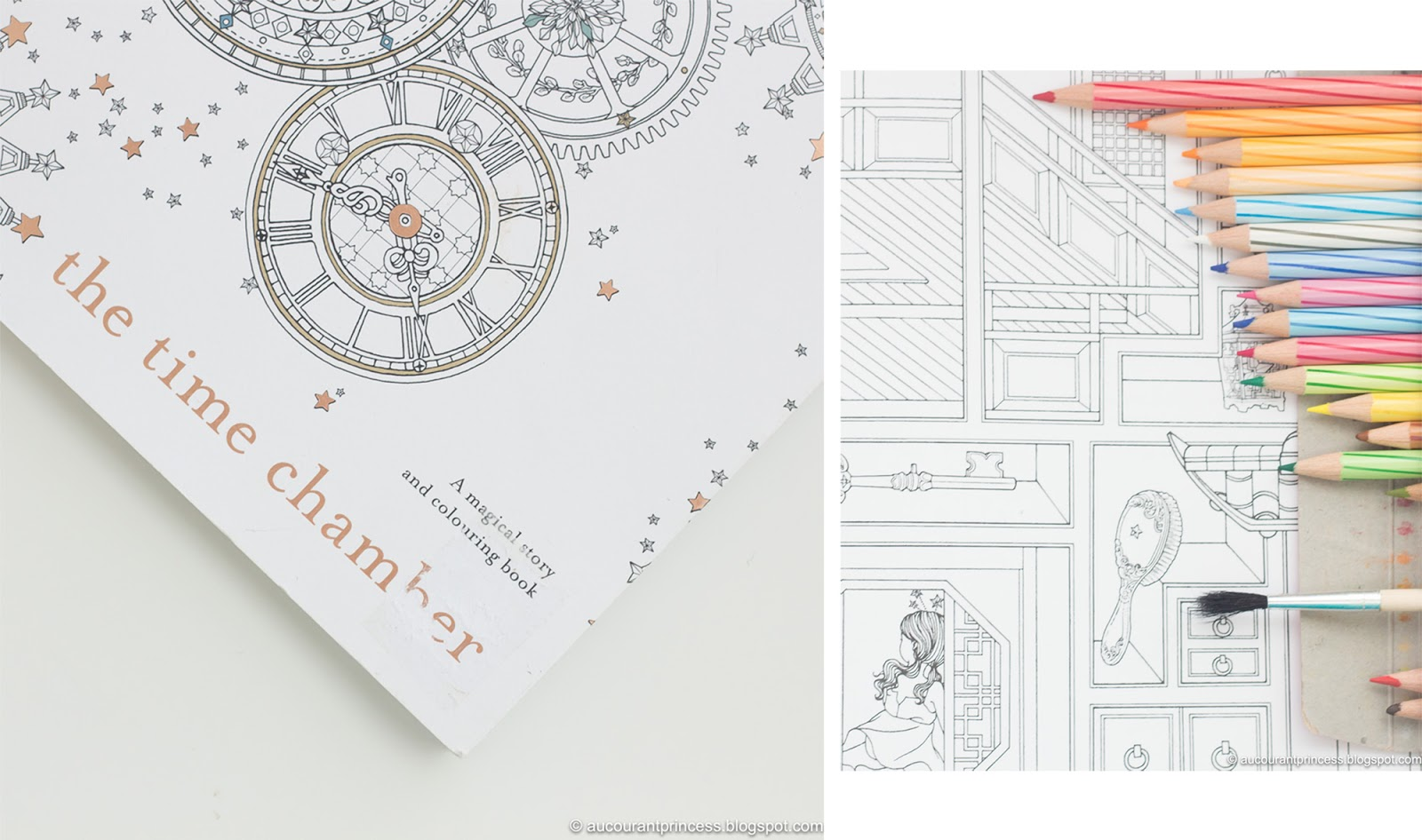 The Time Chamber Coloring Book by Daria Song