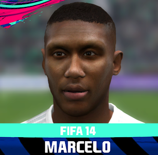 FIFA 14 Faces Marcelo Antônio Guedes Filho by Rale