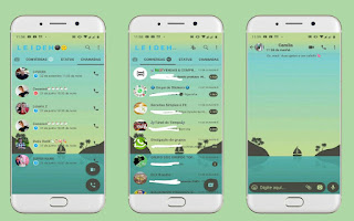 Boat 2 Theme For YOWhatsApp & Fouad WhatsApp By Leidiane