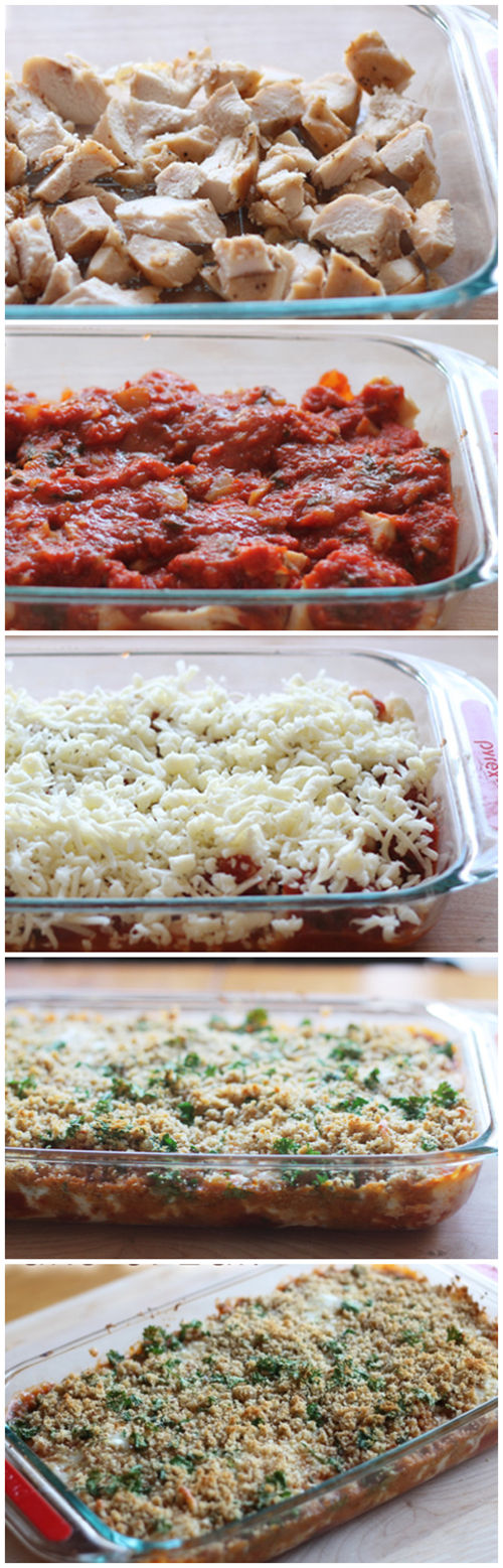 Chicken Parmesan Casserole Recipe: An Easy Freezer Meal