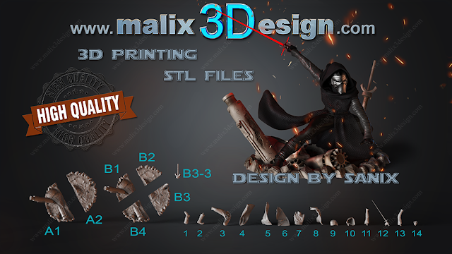 3d model for print