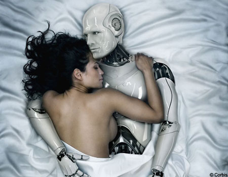 steel man, a movie about a woman, her robot (a perfect man) and her lover (an imperfect man)