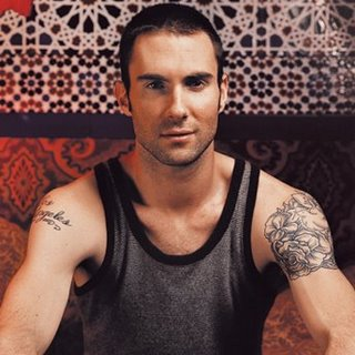 Adam Levine pop rock guitarist