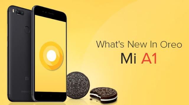 Cara Update Xiaomi Mi A1 ke Android Oreo