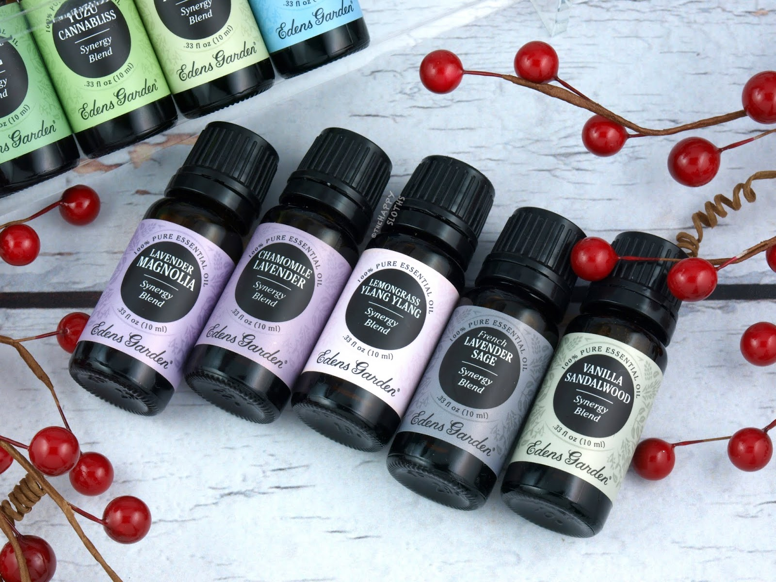 Edens Garden New Essential Oil Synergy Blends Essential Oil Candles Review The Happy Sloths Beauty Makeup And Skincare Blog With Reviews And Swatches