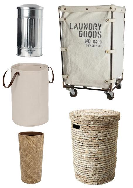 cestos de ropa sucia modernos, decorativos, nóridcos, minimalistas