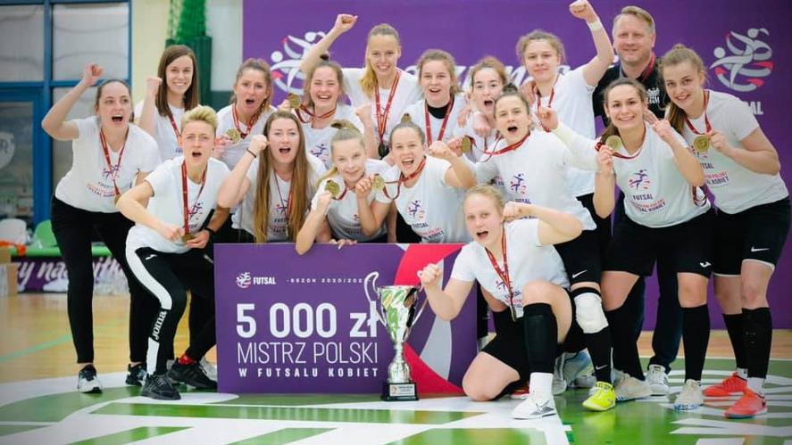 AZS UAM Poznań mistrzyniami Polski w futsalu | foto: RaJu photography