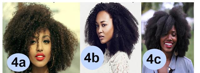 Tabela tipos de cabelo 4