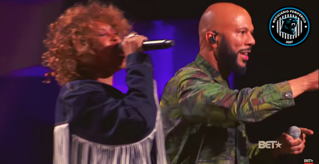 God Is Love & The Light | Common e Erykah Badu fazem dueto memorável no palco do Black Girls Rock! 2019
