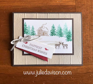 9 Stampin' Up! Snow Front Projects ~ 2019 Holiday Catalog ~ www.juliedavison.com