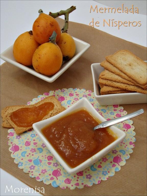 La cocina de morenisa mermelada de n speros y manzana for Cocinar nisperos