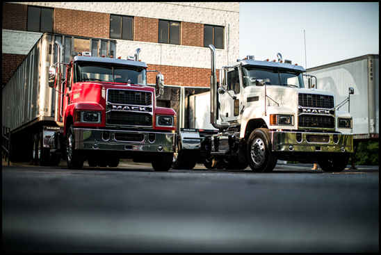 Mack Pinnacle with new Grille