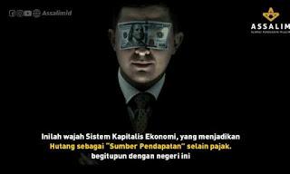 Wajah Kapitalisme, menjadikan Hutang sebagai sumber pendapatan