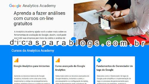 Curso de Google Analytics Grátis