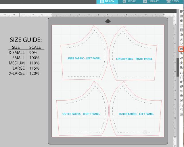 silhouette studio, scale tool, silhouette studio design tools, silhouette software, silhouette studio v4