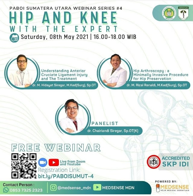 (FREE SKP IDI) Webinar HIP AND KNEE WITH THE EXPERT