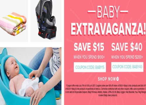 Well.ca Baby Extravaganza Save Up To $40 Off Promo Code