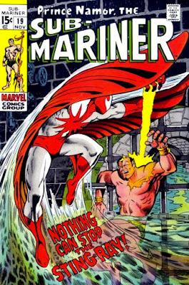 Sub-Mariner #19, Stingray