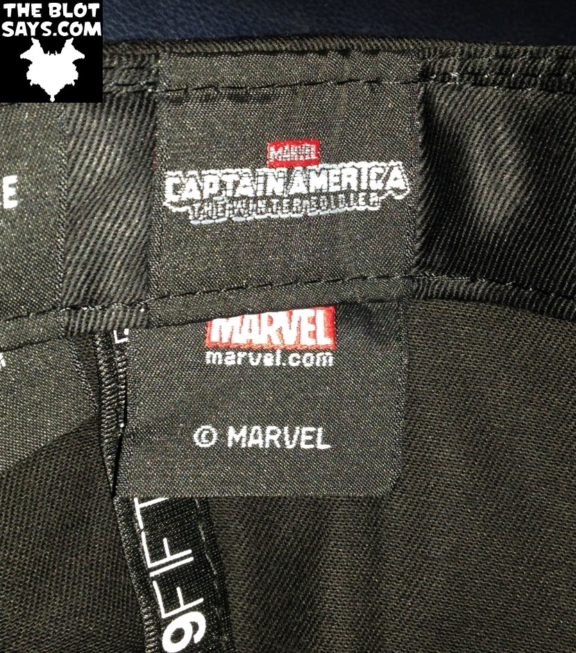 "HAT REVIEW: ""The Winter Soldier"" Captain America: The Winter Soldier 9FIFTY Snapback Hat Logo Tag by New Era"