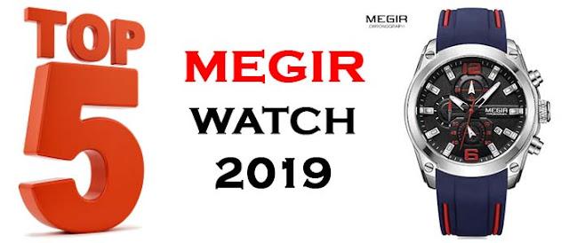 Megir watch top 5 2020, Megir M2063G-2 Chronograph watch Megir watch M2063g2