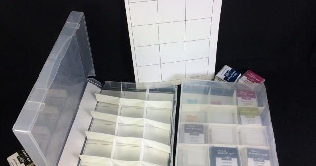 Diy Storage For Stampin U0026 39  Ink Spots